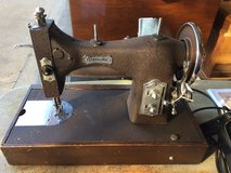 Vintage Domestic Sewing Machine with Case in Fort Leonard Wood, Missouri
