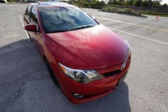 Maintained 2012 Toyota Camry SE Clean in Sandwich, Illinois