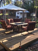 Patio set in Conroe, Texas