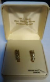 White Topaz Earring Set in Ottumwa, Iowa