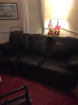 Bonded Leather Couch in Camp Lejeune, North Carolina