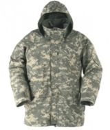 Cold/Wet Weather Parka Digital ACU Size M/R in Fort Campbell, Kentucky