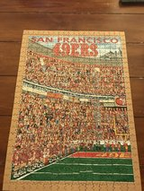 513 piece 49ers puzzle in Yucca Valley, California