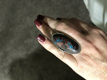 Turquoise ring size 6.5 in 29 Palms, California