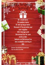 Gift Wrapping Services in Camp Pendleton, California