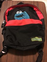 Cookie Monster backpack in Wheaton, Illinois