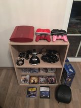 PS3, w/games & 90+ 1080p movies in Ramstein, Germany