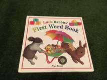 Little Rabbits first word book in Wheaton, Illinois