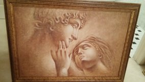 "Framed Cupid and Psyche    41"" x 30"" in Wheaton, Illinois"