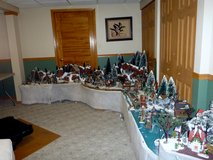 Department 56 Christmas Houses in Lockport, Illinois