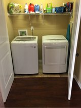 LG Washer and Dryer set in Fort Campbell, Kentucky