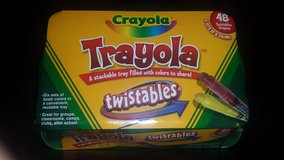 New!  Trayola filled with 6 Sets of 8 Crayola Twistables in Chicago, Illinois
