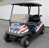 STARS & STRIPES... Club Car Precedent....2013..Golf Cart in Watertown, New York
