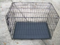 LARGE METAL FOLD-UP ANIMAL CAGE/CRATE--STILL AVAILABLE in Warner Robins, Georgia