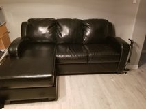 Black leather Sofa in Spring, Texas