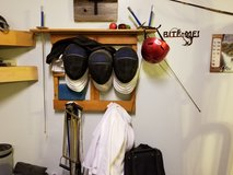 Fencing equipment in Travis AFB, California