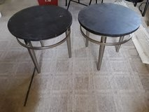 Retro end tables in Palatine, Illinois