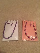 Handmade Necklace and earrings set in Sugar Grove, Illinois