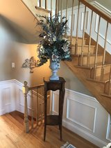 7' Foyer stand and Arrangement in New Lenox, Illinois