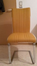 mustard yellow chair high quality in Ramstein, Germany