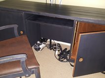 Mid Century Modern Desk and Vintage Chair in Fort Belvoir, Virginia