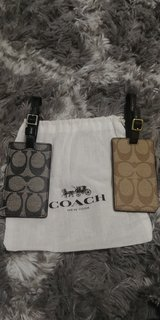 Brand new Coach luggage tags in Travis AFB, California
