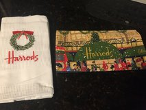 2 New Harrod's Christmas Kitchen Towels in Plainfield, Illinois