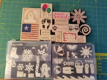 Stamps for scrapbooking or card making in Bolingbrook, Illinois