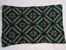 Handmade Crocheted Camouflage/Black/Green Afghan in Camp Lejeune, North Carolina