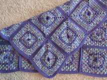 Handmade Crocheted Purple/ Lavender Afghan in Camp Lejeune, North Carolina