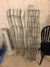 two collapsible cd/DVD holders/towers/racks in Lockport, Illinois