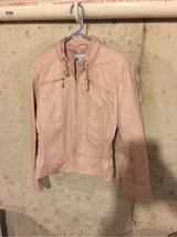 never worn light pink New York and company motorcycle jacket in Naperville, Illinois