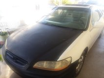 2002 Honda Accord special edition in Barstow, California