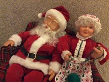Santa & Mrs. Clause on Couch in Perry, Georgia