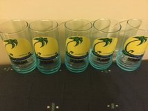 5 Small Okinawa glasses - outside backs have blemishes in Okinawa, Japan