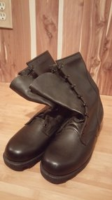 Steel Toe Leather Jump Boots (New) in Fort Polk, Louisiana