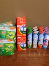 Gain / bounce laundry products / Febreeze air in Batavia, Illinois
