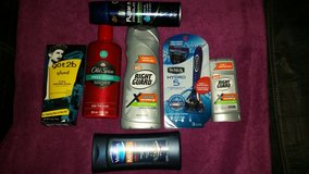 Men's personal care lot in Fort Leonard Wood, Missouri