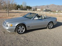 1999 mercedes sl 500 roadster convertable in Alamogordo, New Mexico