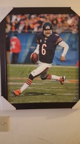 Autographed Jay Cutler framed canvas in Orland Park, Illinois