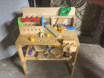 kids wood workbench in Kingwood, Texas