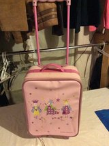 Laura Ashley kids rolling suitcase in Fort Campbell, Kentucky