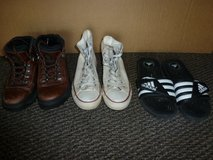 Boys youth shoes and boots,  sz 8 in 29 Palms, California