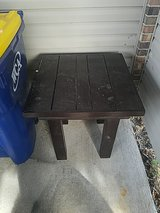 solid wood table for garage or wherever in Fort Leonard Wood, Missouri