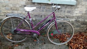 Ladies Vintage Rayleigh bike in Lakenheath, UK