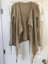 Tan Sweater/Cardigan - NEW in Beaufort, South Carolina