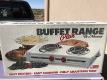 2 Burner Electric Table Top Buffet Range in Alamogordo, New Mexico