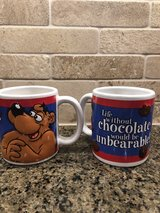 Collectible Fannie May mugs in Westmont, Illinois
