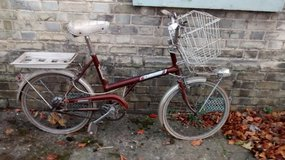Vintage Rayleigh Bike in Lakenheath, UK
