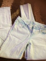 Aeropostale light blue skinny jeans sz7/8 in Fort Polk, Louisiana